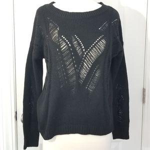 Cloudchaser Black Sweater